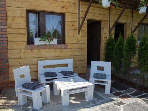 Ogródek wypoczynkowy z ogródkiem Cichowo