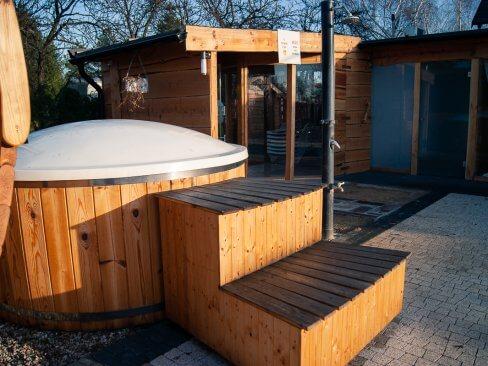 Sauna fińska w Cichowie