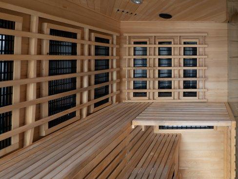 Sauna - ośrodek wypoczynkowy Cichowo